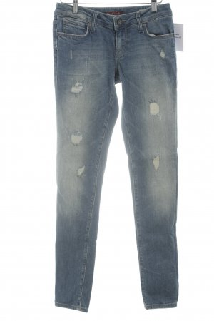 Mavi Jeans Co. Skinny Jeans blau Destroy-Optik