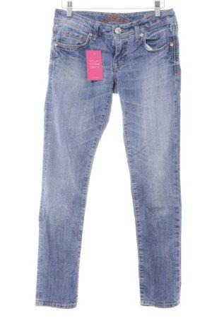 Mavi Jeans Co. Skinny Jeans blau schlichter Stil