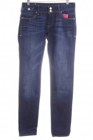 Mavi Jeans Co. Skinny Jeans blau Washed-Optik