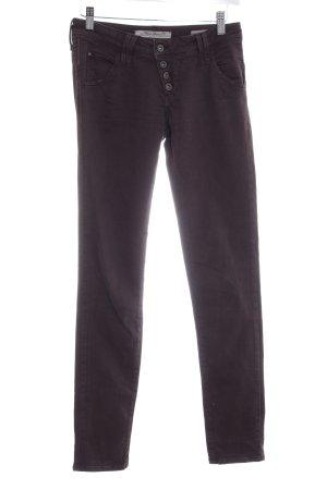 Mavi Jeans Co. Skinny Jeans braunviolett Casual-Look