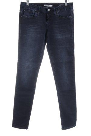 Mavi Jeans Co. Skinny Jeans dunkelblau Business-Look