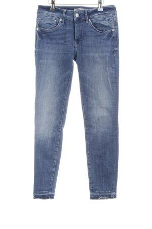 Mavi Jeans Co. Skinny Jeans graublau-blassblau Jeans-Optik