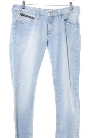 Mavi Jeans Co. Skinny Jeans hellblau Casual-Look