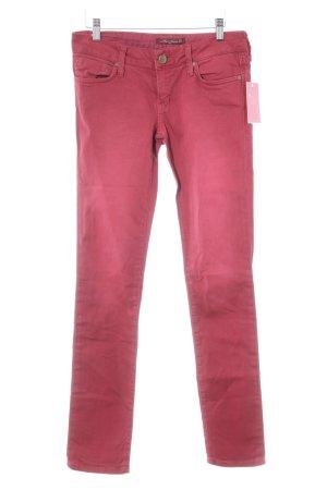 Mavi Jeans Co. Skinny Jeans karminrot Casual-Look