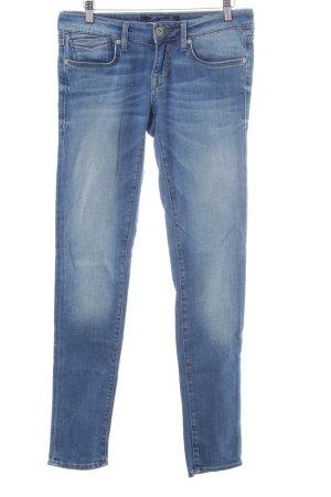Mavi Jeans Co. Skinny Jeans kornblumenblau-stahlblau Casual-Look