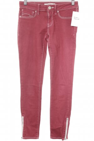 Mavi Jeans Co. Skinny Jeans neon red casual look