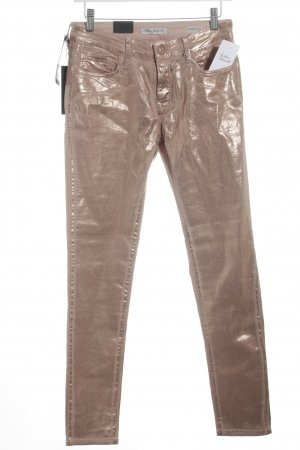Mavi Jeans Co. Skinny Jeans nude-beige Schimmer-Optik