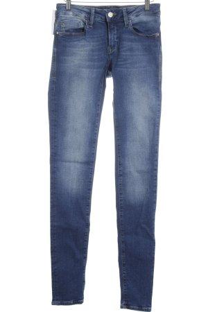 Mavi Jeans Co. Skinny Jeans petrol Jeans-Optik