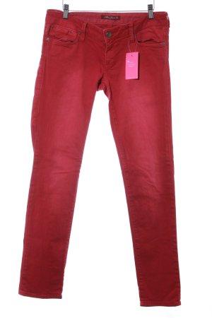 Mavi Jeans Co. Skinny Jeans rot Casual-Look
