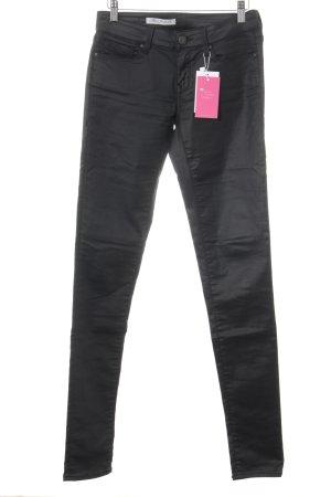 Mavi Jeans Co. Skinny Jeans schwarz Biker-Look