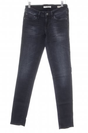 Mavi Jeans Co. Skinny Jeans schwarz Washed-Optik