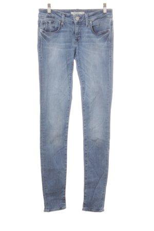 Mavi Jeans Co. Jeans skinny blu acciaio stile casual