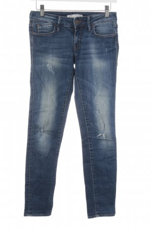 Mavi Jeans Co. Skinny Jeans stahlblau-kornblumenblau Street-Fashion-Look