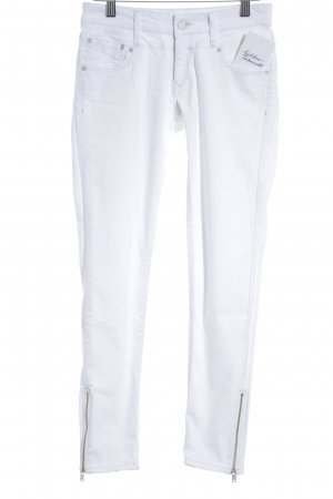 Mavi Jeans Co. Skinny Jeans weiß schlichter Stil