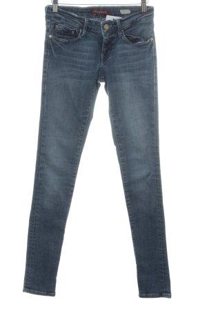 Mavi Jeans Co. Slim Jeans blau Casual-Look