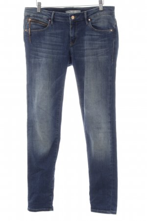 Mavi Jeans Co. Slim Jeans blau Washed-Optik