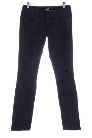Mavi Jeans Co. Slim Jeans dunkelblau Casual-Look