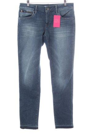 Mavi Jeans Co. Slim Jeans graublau Washed-Optik