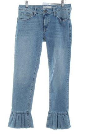 Mavi Jeans Co. Slim Jeans himmelblau Washed-Optik