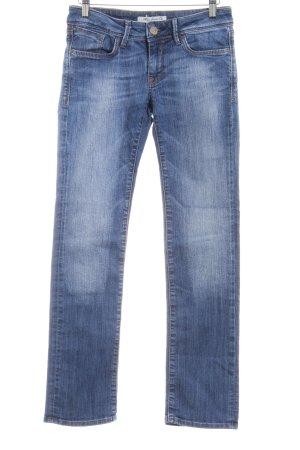 Mavi Jeans Co. Slim Jeans kornblumenblau Casual-Look