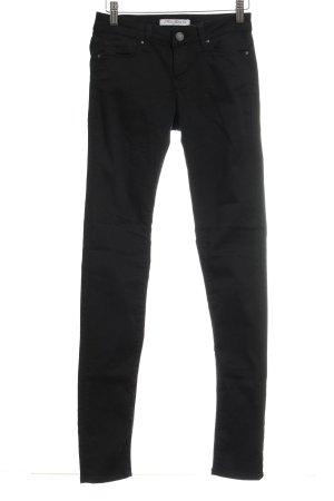 Mavi Jeans Co. Slim Jeans schwarz schlichter Stil
