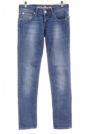 Mavi Jeans Co. Slim jeans staalblauw casual uitstraling
