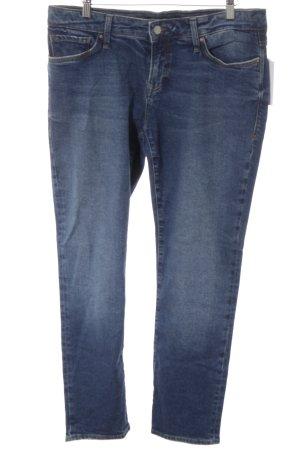 Mavi Jeans Co. Slim Jeans stahlblau-dunkelblau Casual-Look