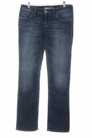 Mavi Jeans Co. Straight-Leg Jeans blau Casual-Look