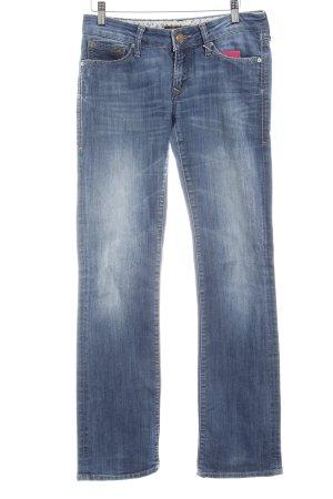 Mavi Jeans Co. Straight-Leg Jeans blau Farbverlauf Casual-Look