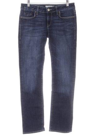 Mavi Jeans Co. Straight-Leg Jeans dunkelblau-blau Casual-Look