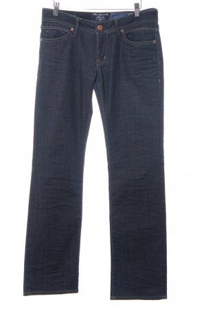 Mavi Jeans Co. Straight-Leg Jeans dunkelblau Casual-Look