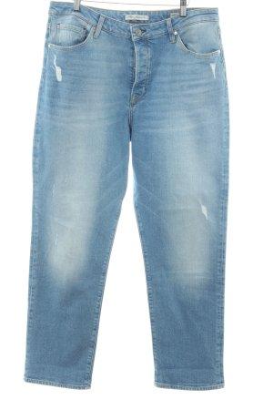 Mavi Jeans Co. Straight-Leg Jeans hellblau Casual-Look