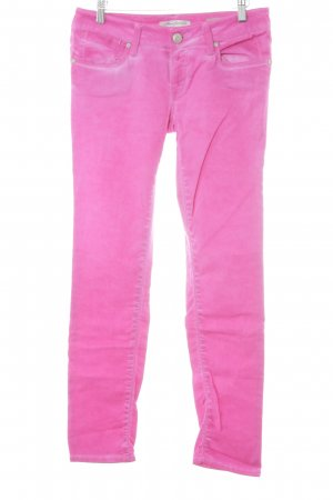 Mavi Jeans Co. Straight-Leg Jeans pink Casual-Look