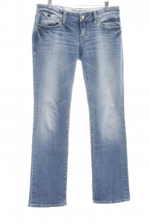 Mavi Jeans Co. Straight-Leg Jeans stahlblau Boyfriend-Look