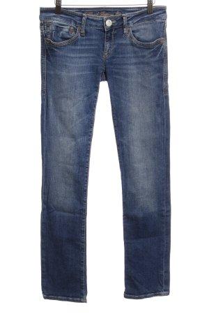 Mavi Jeans Co. Straight-Leg Jeans stahlblau Casual-Look