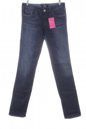 Mavi Jeans Co. Straight-Leg Jeans stahlblau Casual-Look