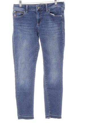 Mavi Jeans Co. Stretch Jeans stahlblau Casual-Look