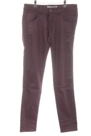 Mavi Jeans Co. Stretchhose brombeerrot Casual-Look