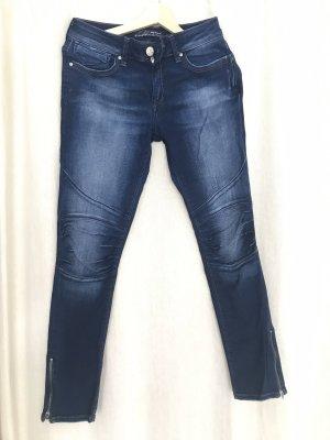Mavi Jeans Co. Vaquero de motero azul oscuro