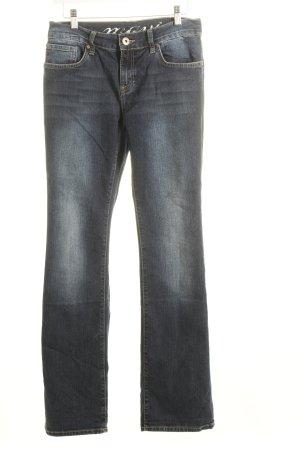 Mavi Jeans dunkelblau Washed-Optik