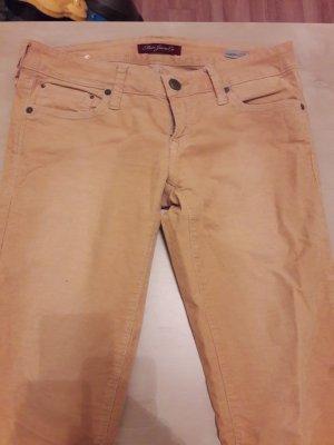 Mavi Jeans gelb /Cordstil