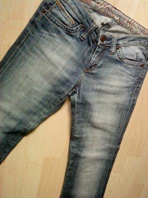 Mavi Jeans bootcut multicolore coton