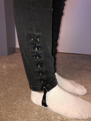 Mavi Jeans Co. Pantalón de tubo gris oscuro-gris antracita