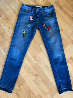 Mavi Jeans Co. Stretch jeans blauw-donkerblauw
