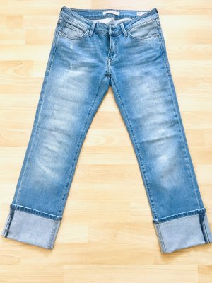 Mavi Jeans Co. Straight Leg Jeans light blue