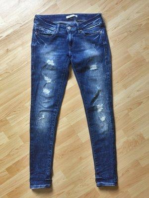 MAVI Jeans Serena Gr 28 / 32 blau