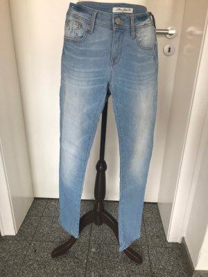 Mavi Jeans Serena Low Rise, Super Skinny, Gr.29/30 blau