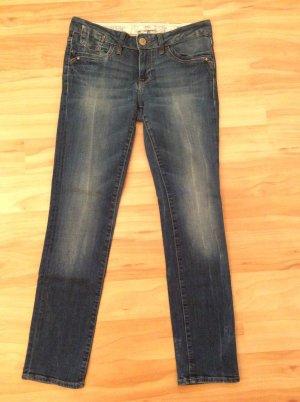 mavi UPTOWN Low Rise jeans blauw Katoen