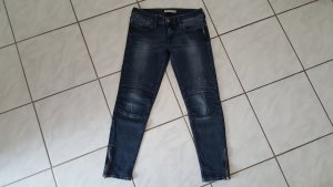 Mavi Jeans Co. Biker Jeans dark blue cotton