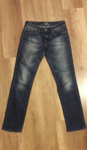 Mavi Jeans Straight Leg schmal slim fit 36 Denim